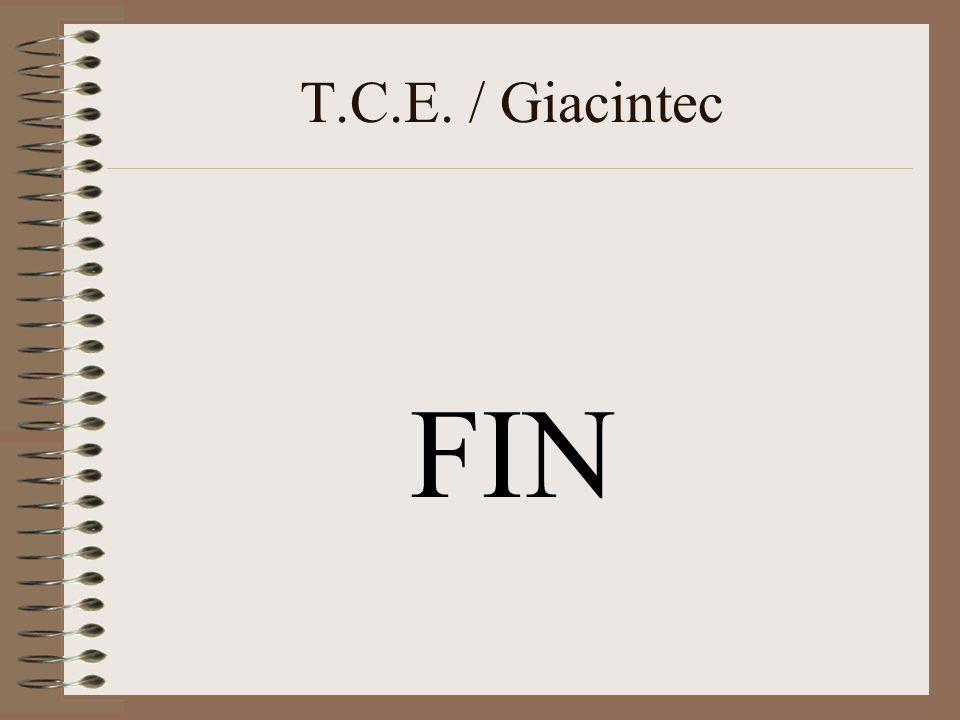 T.C.E. / Giacintec FIN