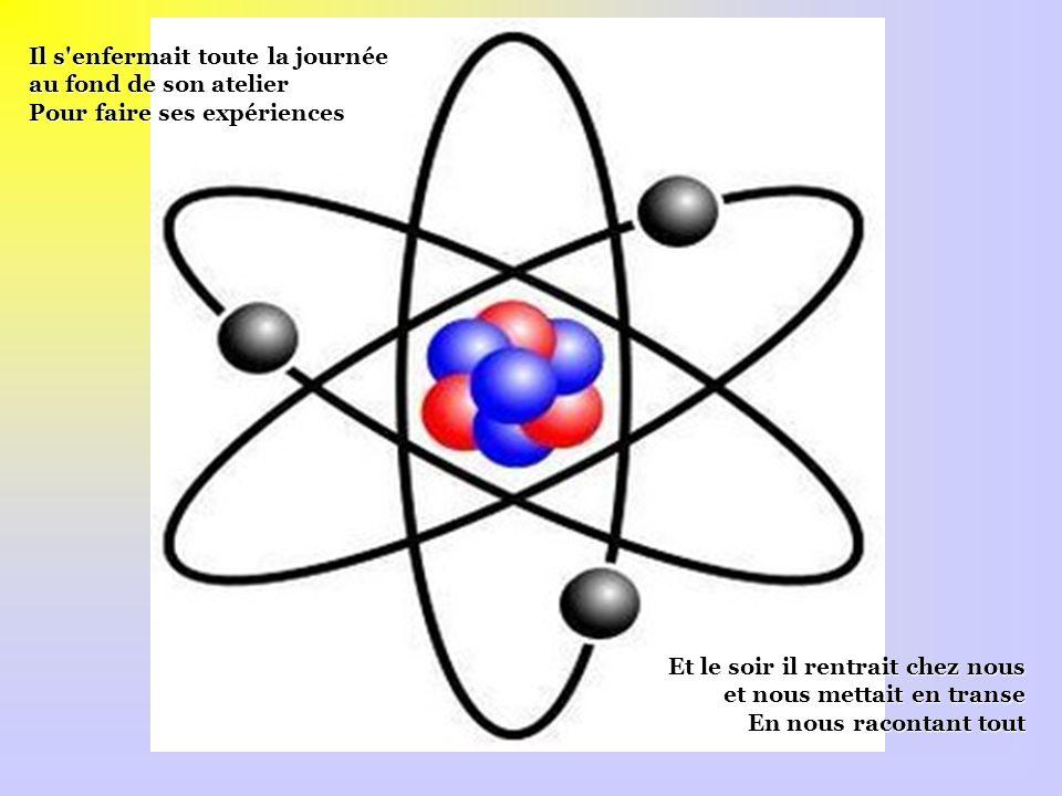 Sans avoir jamais rien appris c'était un vrai génie Question travaux pratiques Mon oncle un fameux bricoleur faisait en amateur Des bombes atomiques