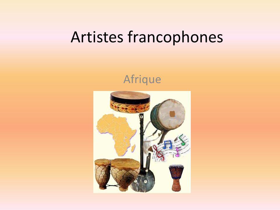 Artistes francophones Afrique