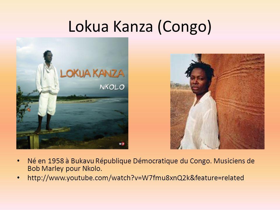 Lokua Kanza (Congo) Né en 1958 à Bukavu République Démocratique du Congo.