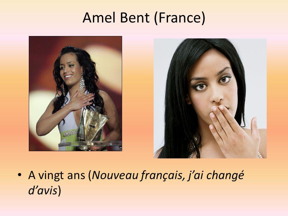 Amel Bent (France) A vingt ans (Nouveau français, jai changé davis)