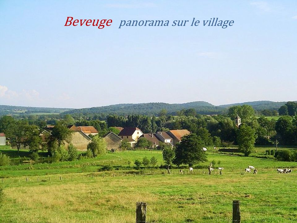 Vy-lès-Lure le village