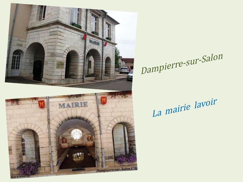 Vernois-sur-Mance village en hiver