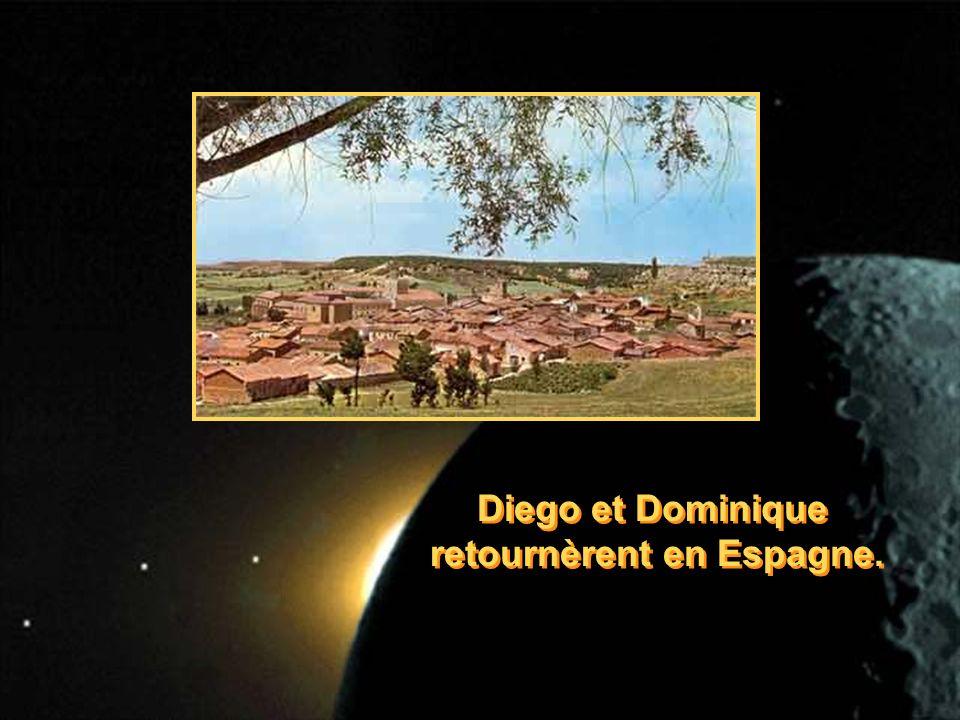 Diego et Dominique retournèrent en Espagne. Diego et Dominique retournèrent en Espagne.