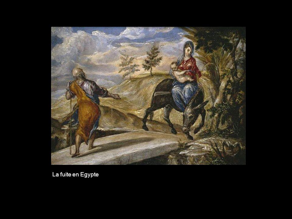 Lenterrement du comte dOgaz (détail)