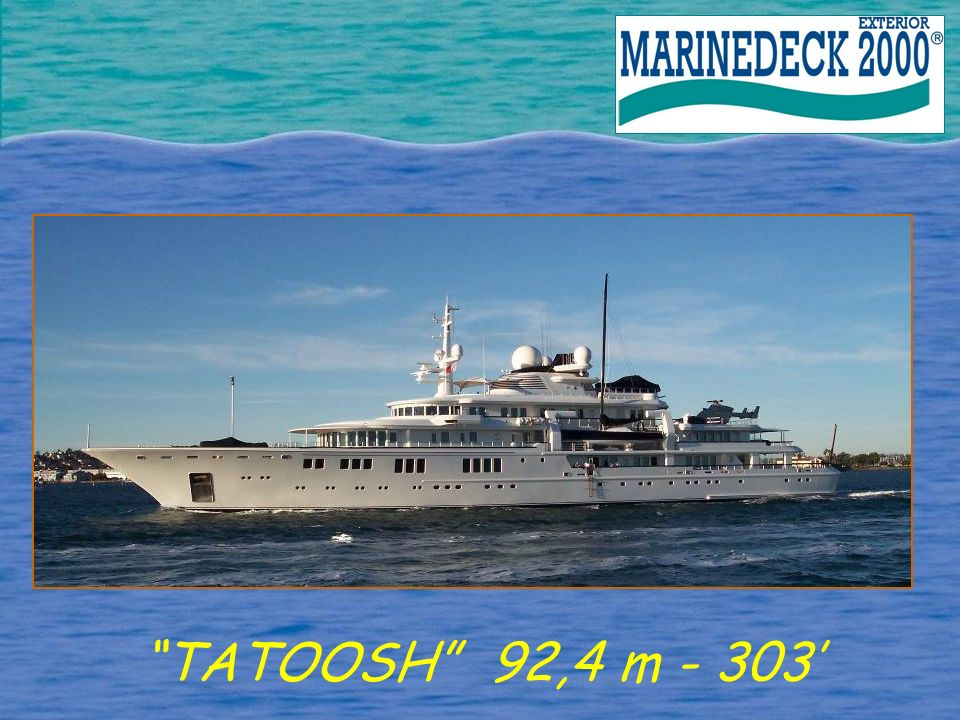 TATOOSH 92,4 m - 303