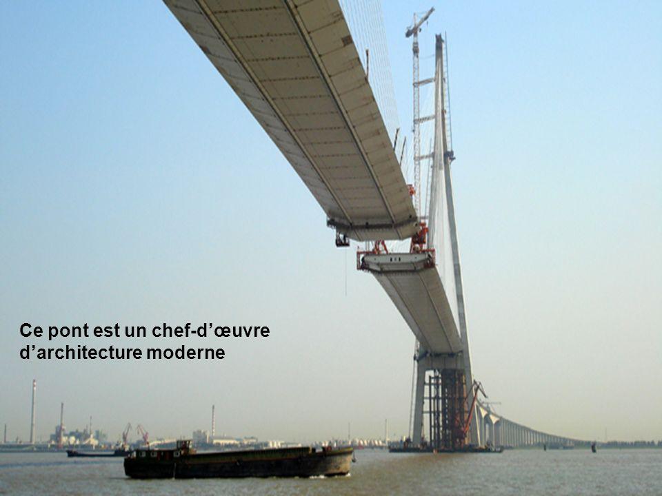 5 Ce pont est un chef-dœuvre darchitecture moderne