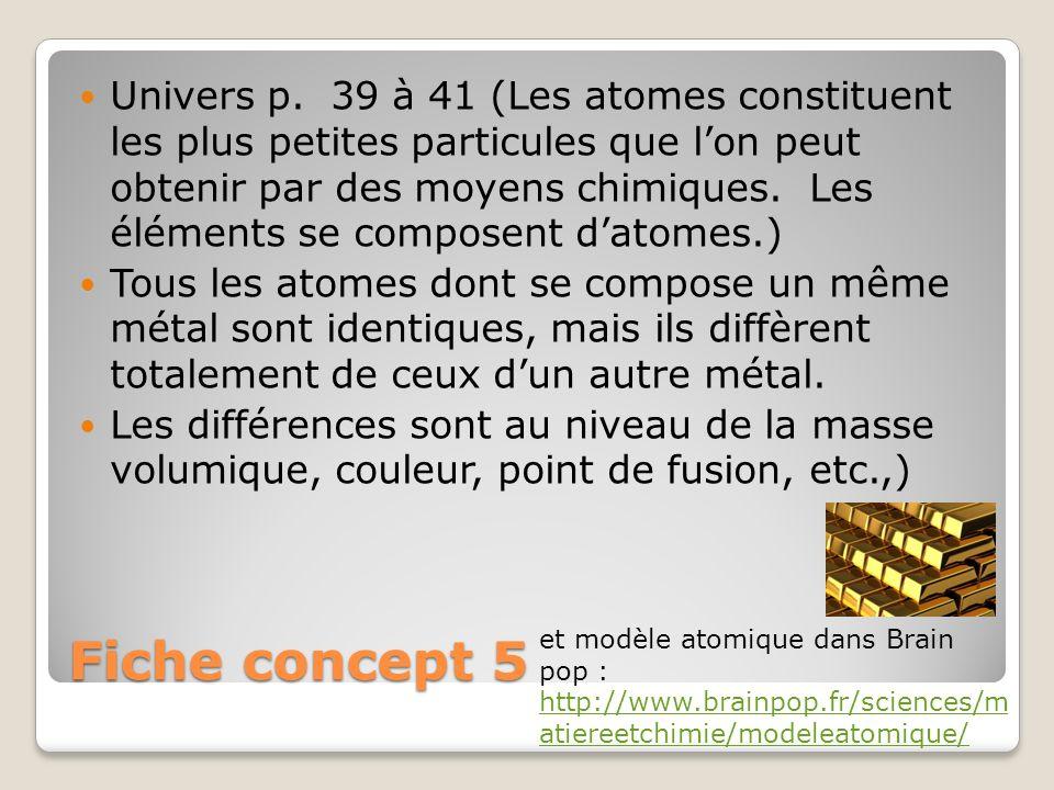 Fiche concept 5 Univers p.