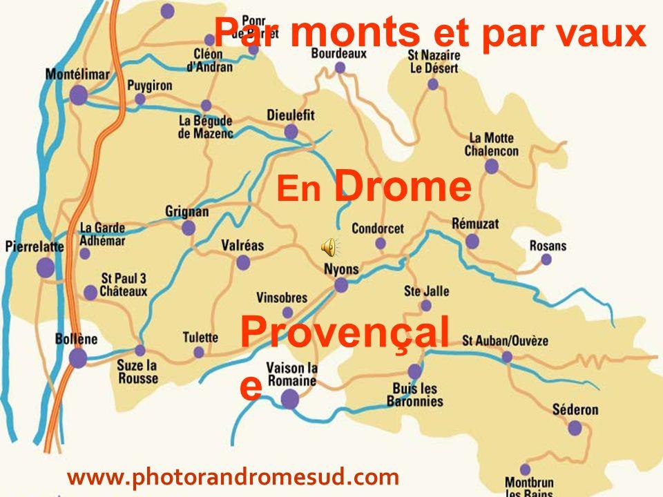 Depuis le sommet de lArsuc : la Mtg de Chamouse ( col de Perty Baronnies )