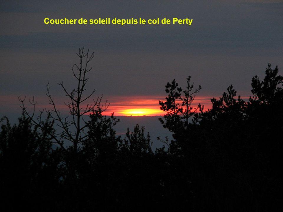 En montant au col du comte ( Mt Ventoux )