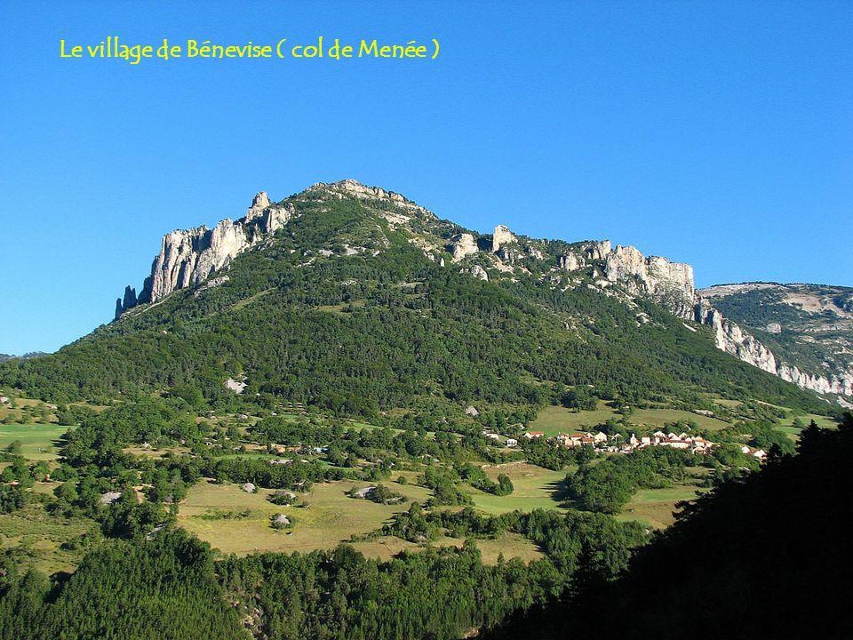 Depuis le rocher du Pas : le Mont Ventoux