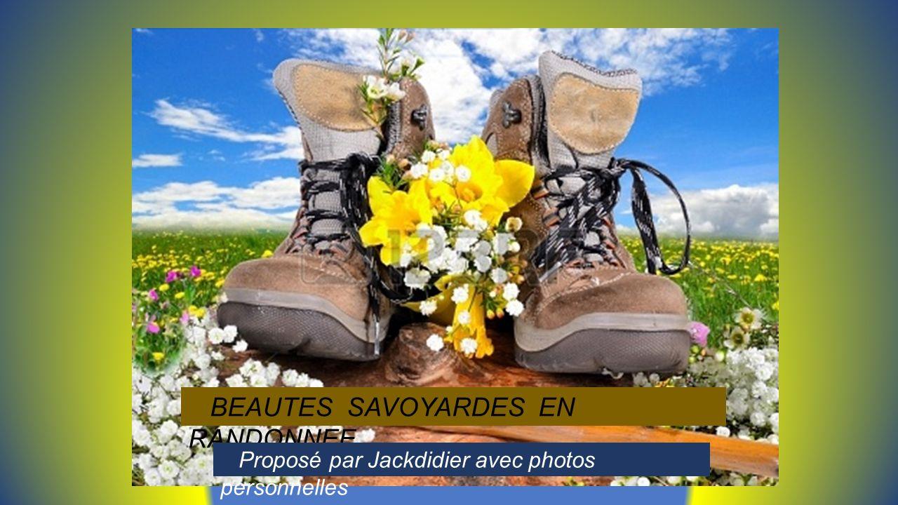BEAUTES SAVOYARDES EN RANDONNEE Proposé par Jackdidier avec photos personnelles