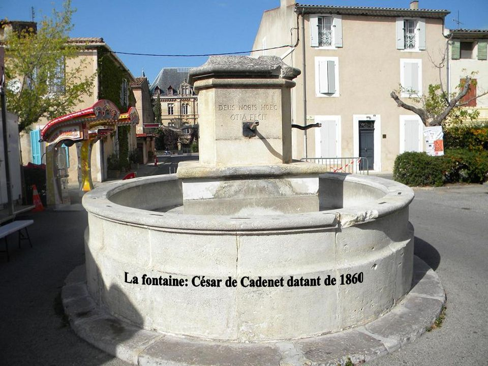 Cétait le château de César de Cadenet à Charleval !
