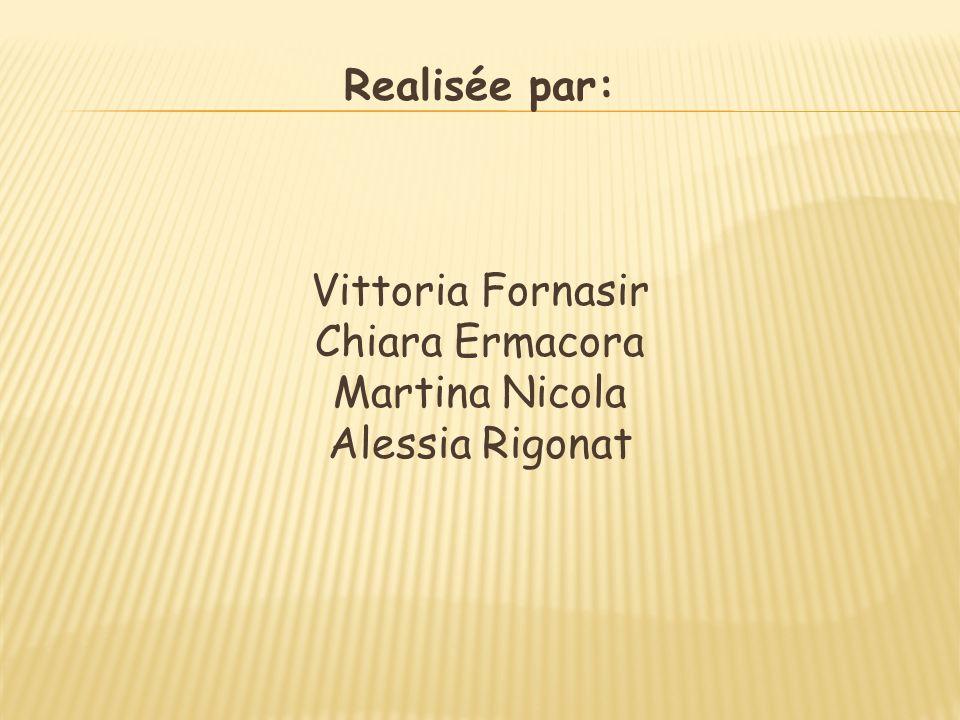 Realisée par: Vittoria Fornasir Chiara Ermacora Martina Nicola Alessia Rigonat
