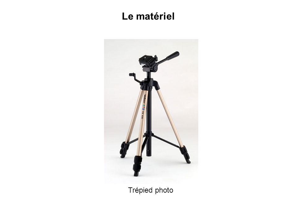 Le matériel Trépied photo