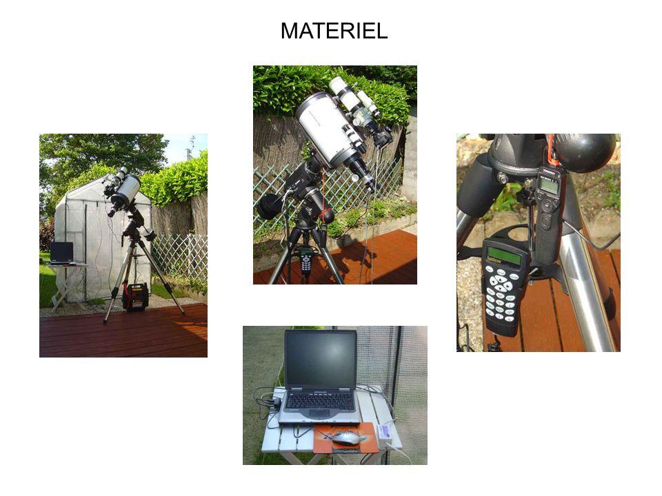 Montures Les montures les plus utilisées pour la pratique de lastrophotographie sont de type à fourche ou équatoriale.