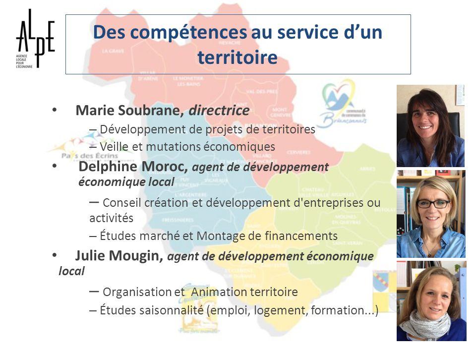 Des compétences au service dun territoire Marie Soubrane, directrice – Développement de projets de territoires – Veille et mutations économiques Delph