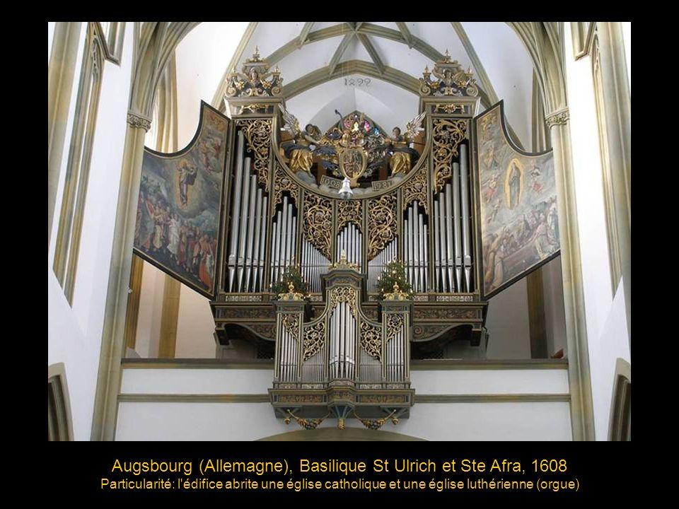 Haarlem (Pays-Bas), Sint Bavokerk (église St-Bavon), 1738 Facteur d orgue: Christian Müller, Buffet: Jan van Logteren Pure merveille musicale.