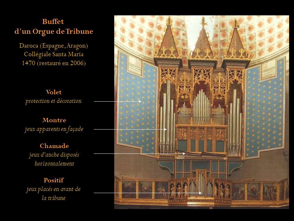 Du sud au nord de l Europe, partez pour un voyage parmi les buffets d orgues.
