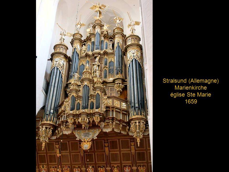 Hambourg (Allemagne), Eglise St Michel, 1912 reconstitution agrandie du buffet de 1769, détruit lors d un incendie en 1905