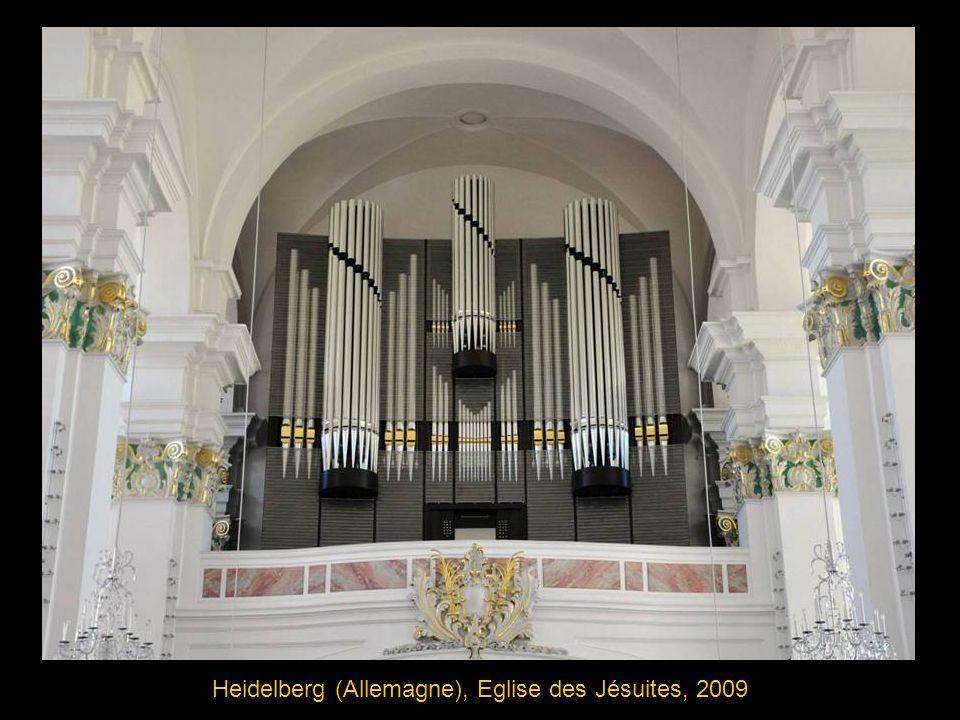 Stralsund (Allemagne) Marienkirche église Ste Marie 1659