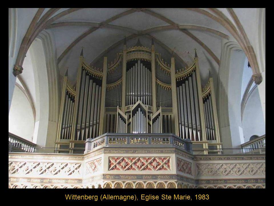 Trèves (Allemagne), Eglise St-Paulin, 1753, buffet de Balthasar Neumann