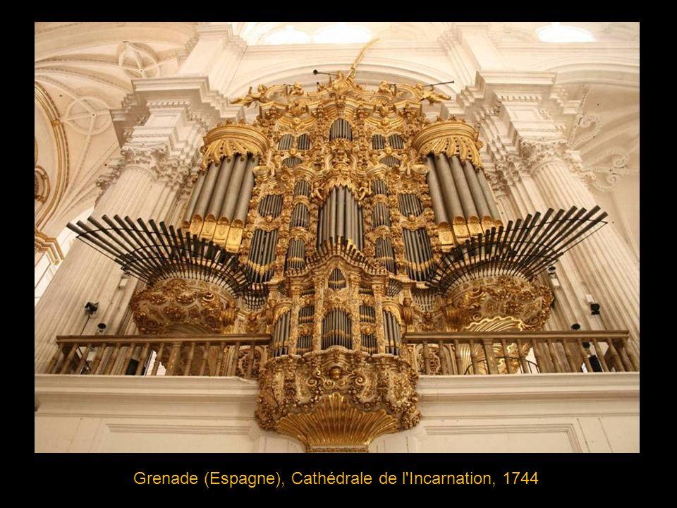 Weener (Allemagne), Eglise St Georges, 1710 facteur d orgue: Arp Schnitger