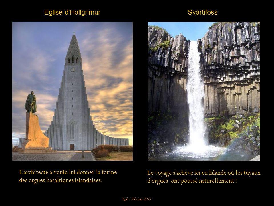 Reykjavik (Islande), Eglise d Hallgrimur, 1992