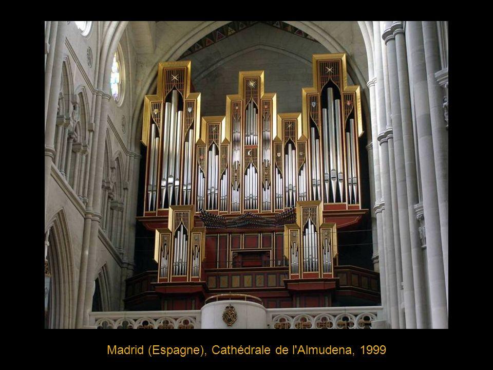 Maassluis (Pays-Bas), Groote kerk (grande église), 1732 Facteur d orgue: Rudolf Garrels, Buffet: Daniel de Vries