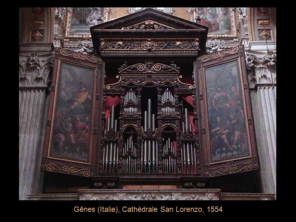 Ochsenhausen, Abbatiale St Georges, détail de la partie centrale un des sommets du style rococo