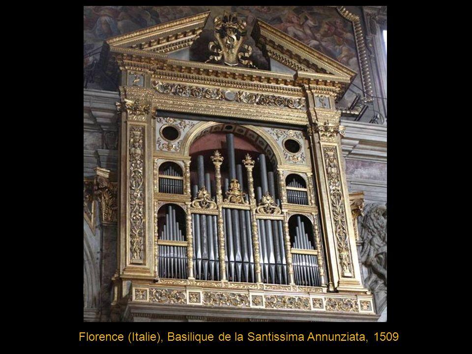 Vilnius (Lituanie), Eglise St Jean, 1782 nouvel orgue installé après l incendie de 1737
