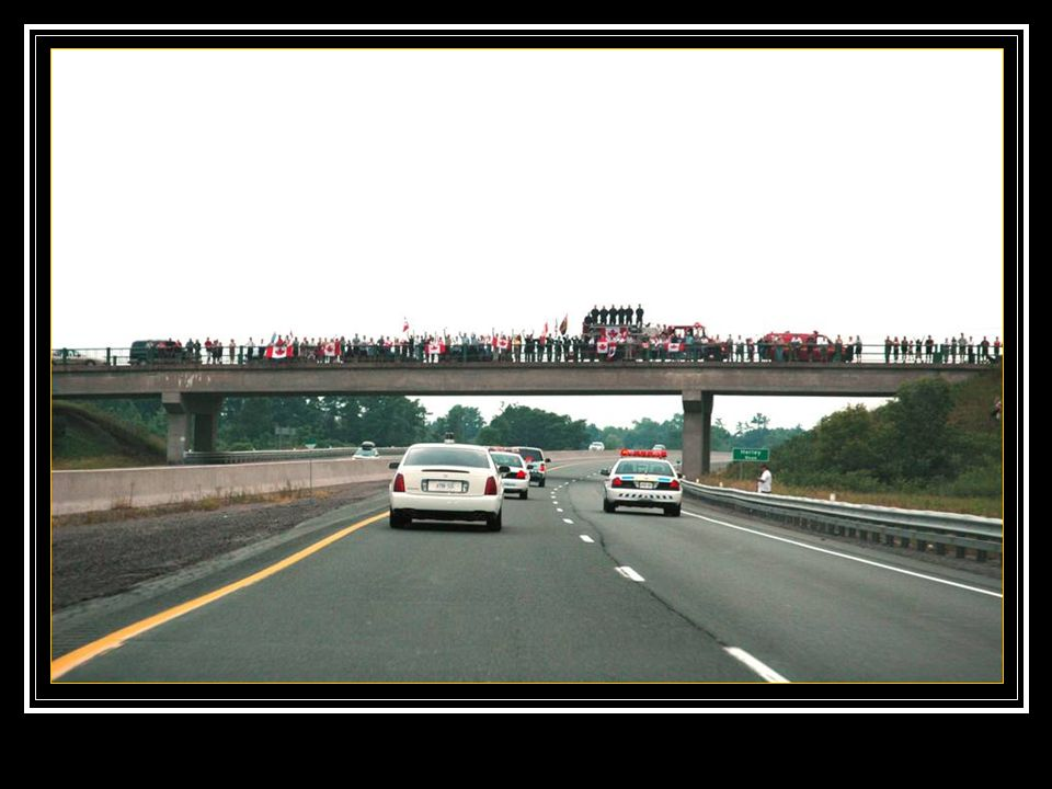 Entre Trenton et Toronto, il y a 50 ponts.