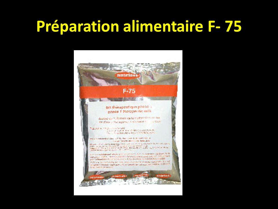 Préparation alimentaire F- 75