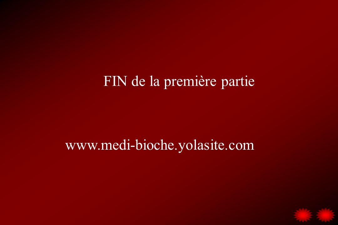 FIN de la première partie www.medi-bioche.yolasite.com