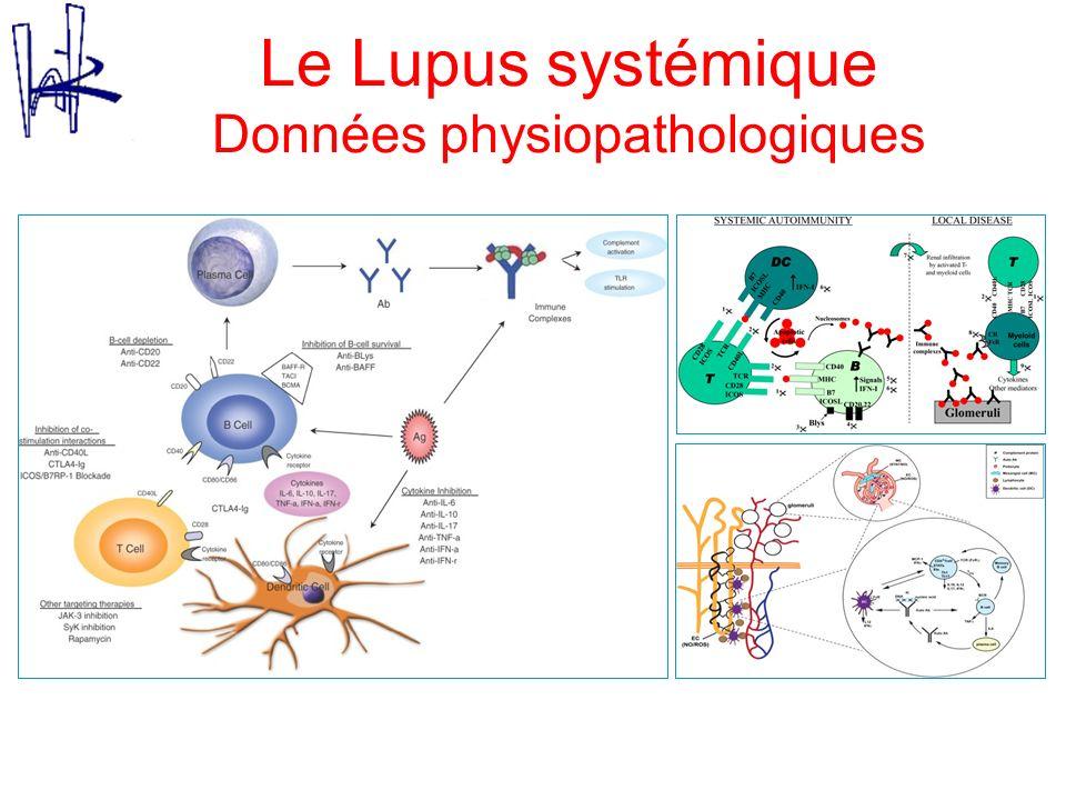 Le Lupus systémique Données physiopathologiques