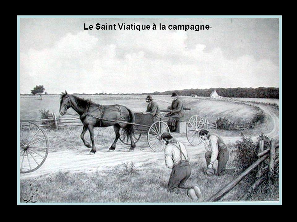 Le Saint Viatique à la campagne
