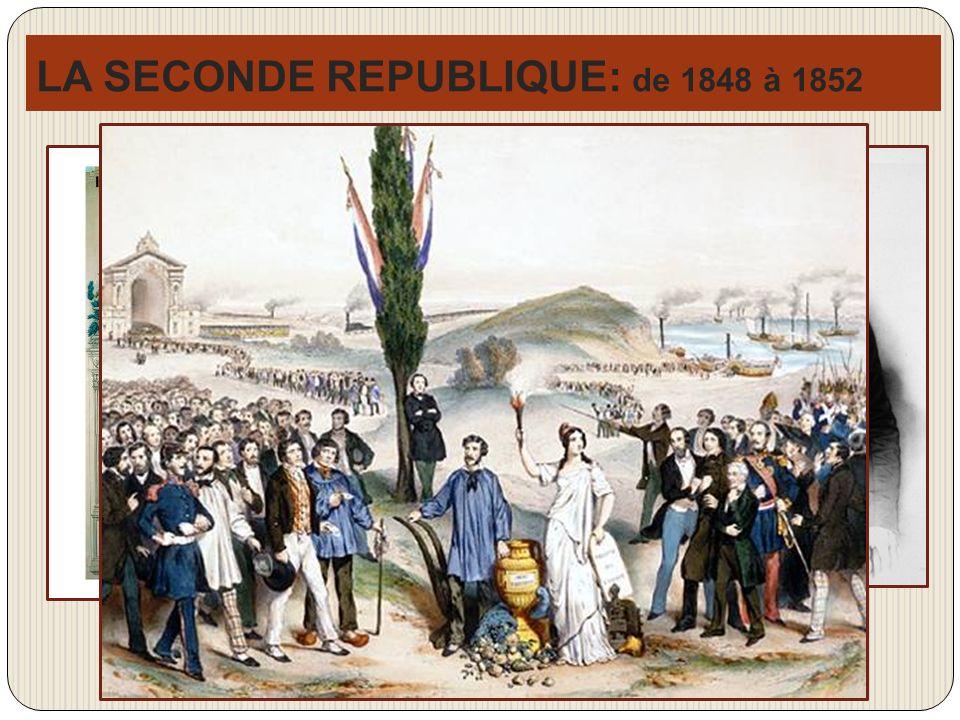 LA SECONDE REPUBLIQUE: de 1848 à 1852