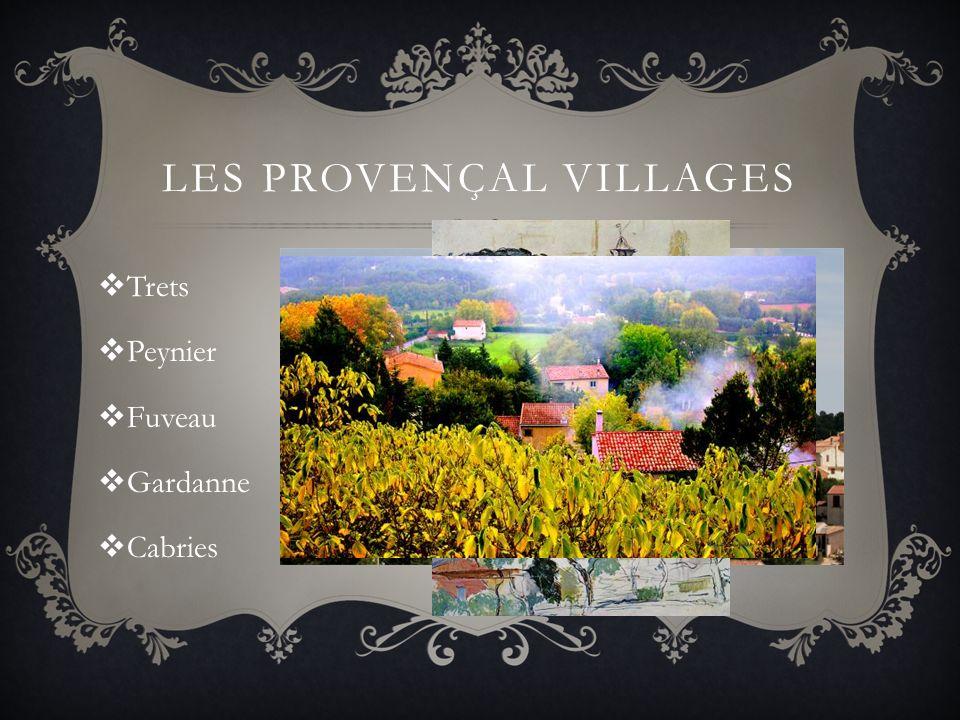 LES PROVENÇAL VILLAGES Trets Peynier Fuveau Gardanne Cabries