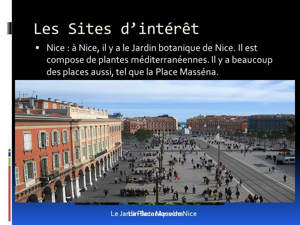 Nice : à Nice, il y a le Jardin botanique de Nice.