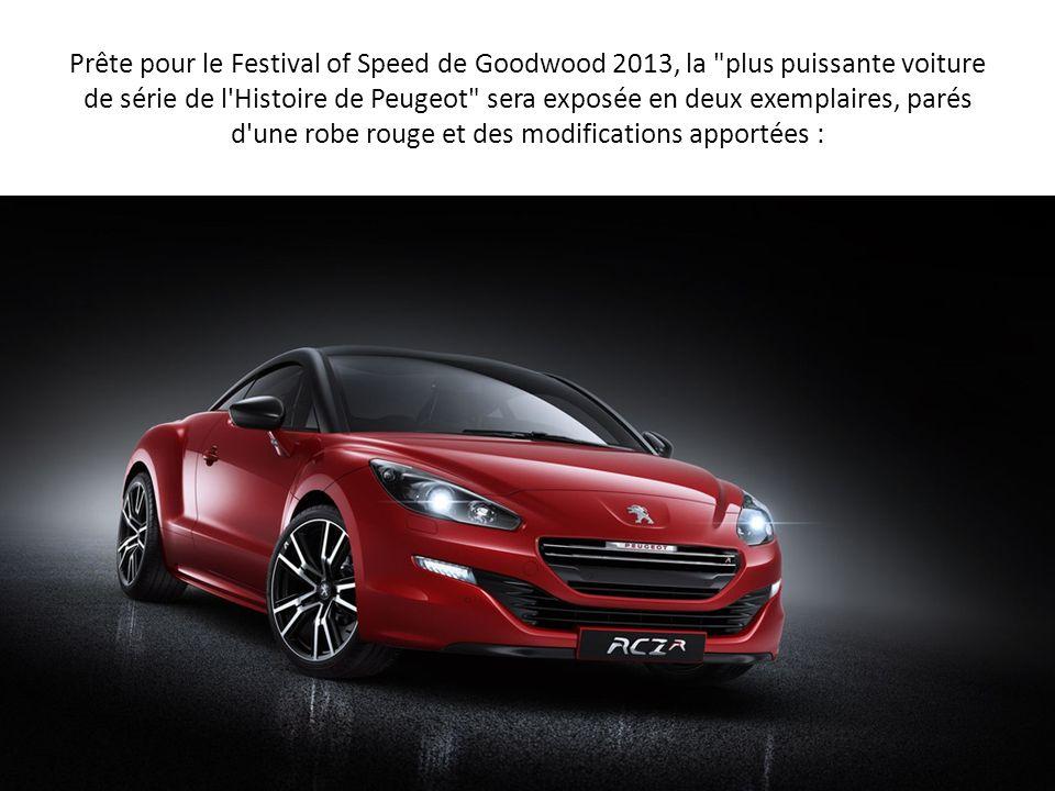 Prête pour le Festival of Speed de Goodwood 2013, la