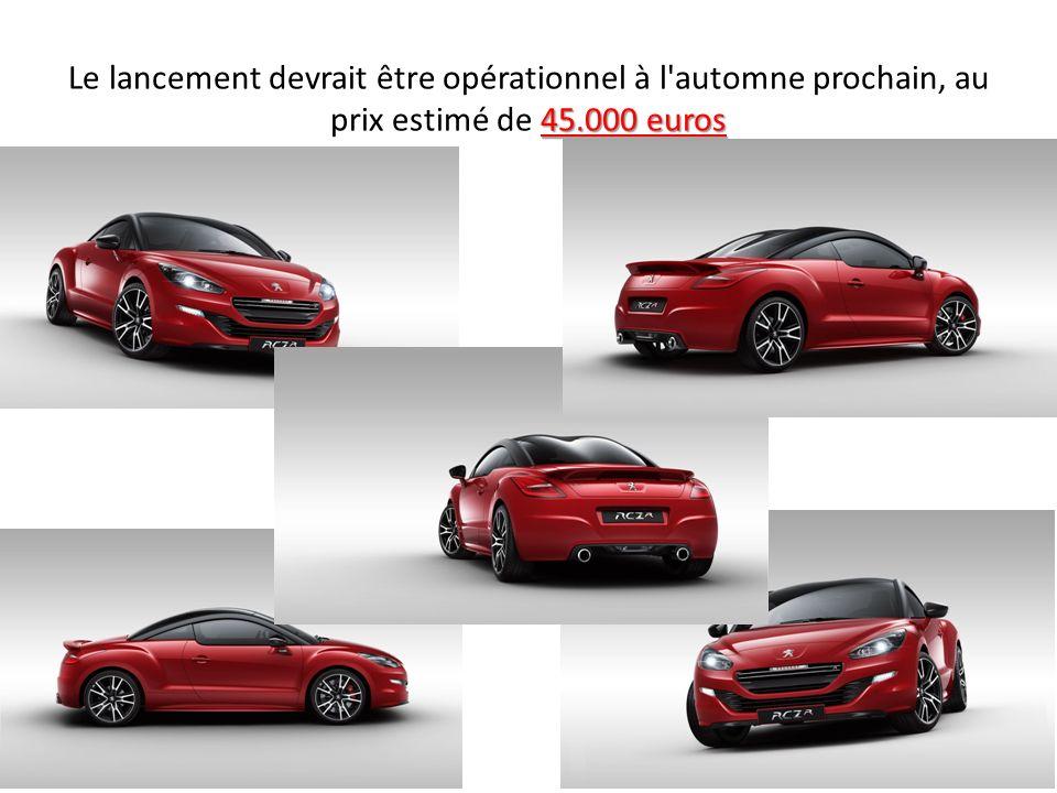 45.000 euros Le lancement devrait être opérationnel à l'automne prochain, au prix estimé de 45.000 euros