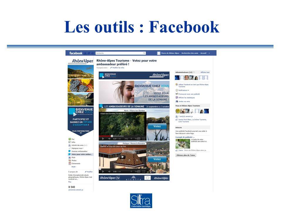 Les outils : Facebook
