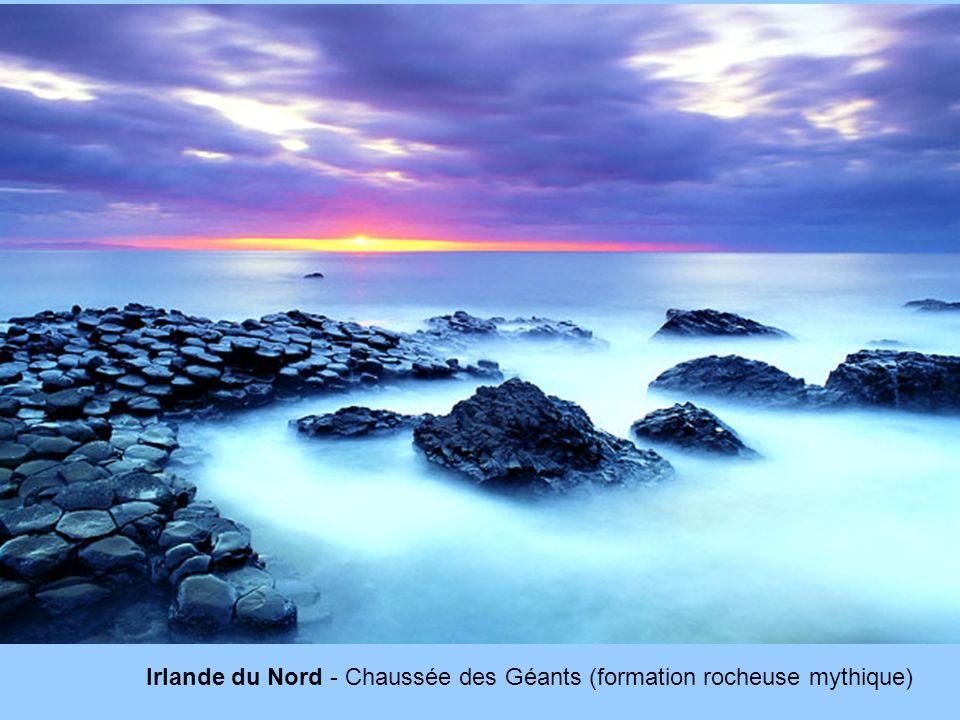 Irlande du Nord - Chaussée des Géants (formation rocheuse mythique)