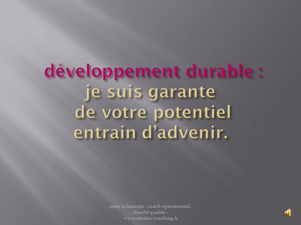 anne kolasinski - coach opérationnel, objectif qualité – www.etoiles-coaching.fr VOTRE AUTONOMIE
