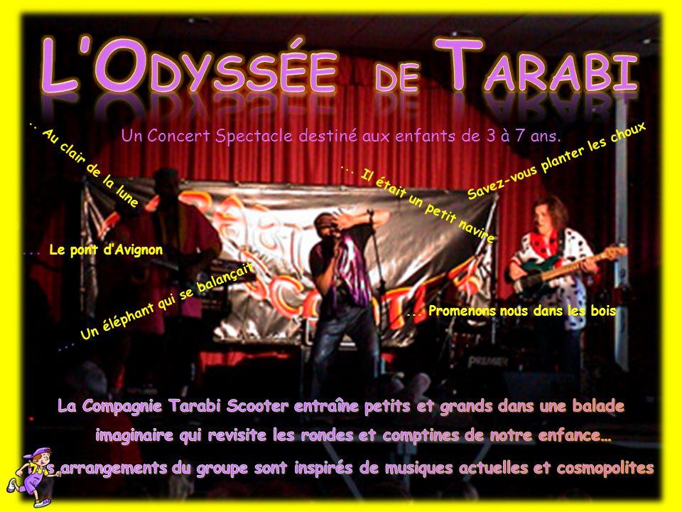 Un Concert Spectacle destiné aux enfants de 3 à 7 ans....