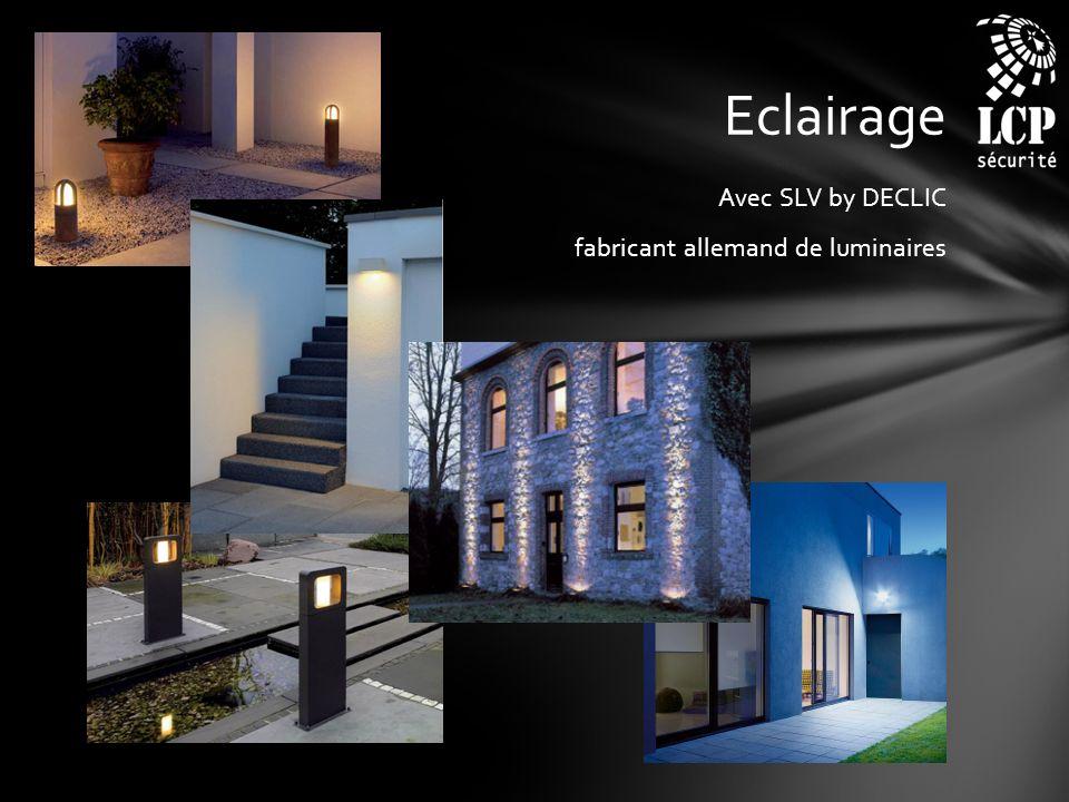 Eclairage Avec SLV by DECLIC fabricant allemand de luminaires