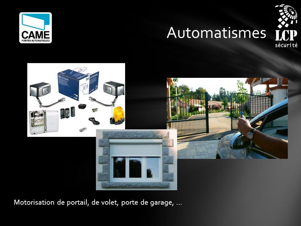 Automatismes Motorisation de portail, de volet, porte de garage, …