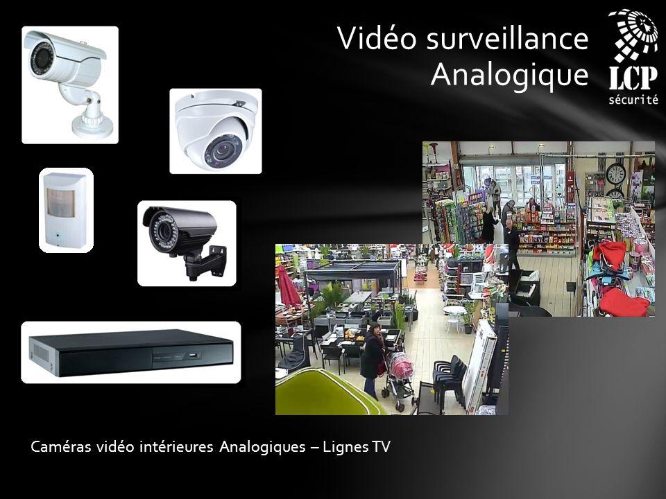 Vidéo surveillance Analogique Caméras vidéo intérieures Analogiques – Lignes TV