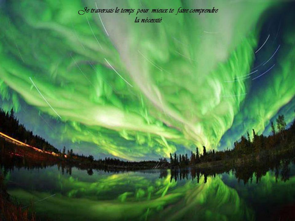 Je voudrais te conter, la vie de cette terre, Qui était là hier dans le vert et le beau!