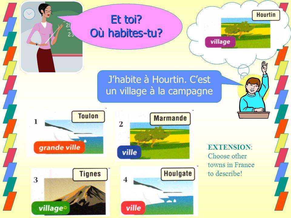 Jhabite à Houlgate. Cest une ville au bord de la mer Jhabite à Tignes.